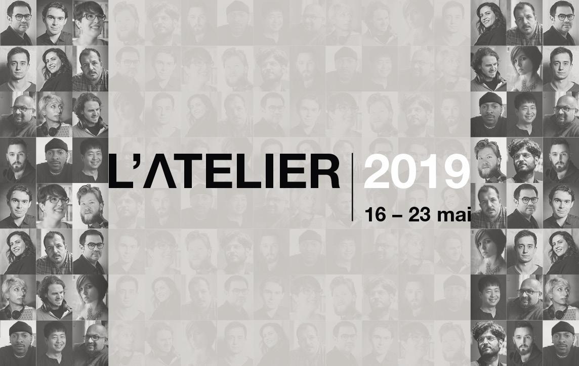 L'Atelier 2019